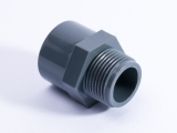 PVC Fitting Uebergangsmuffe