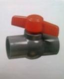 PVC Einklebe Kugelhahn