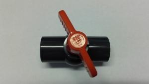PVC Einklebe Kugelhahn 32