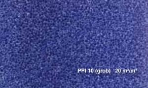 Osaga Filterschaum-Matte 50 x 50 x 10 cm grob