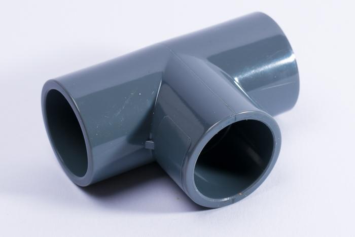 PVC T-Stueck 90 Grad 50 mm