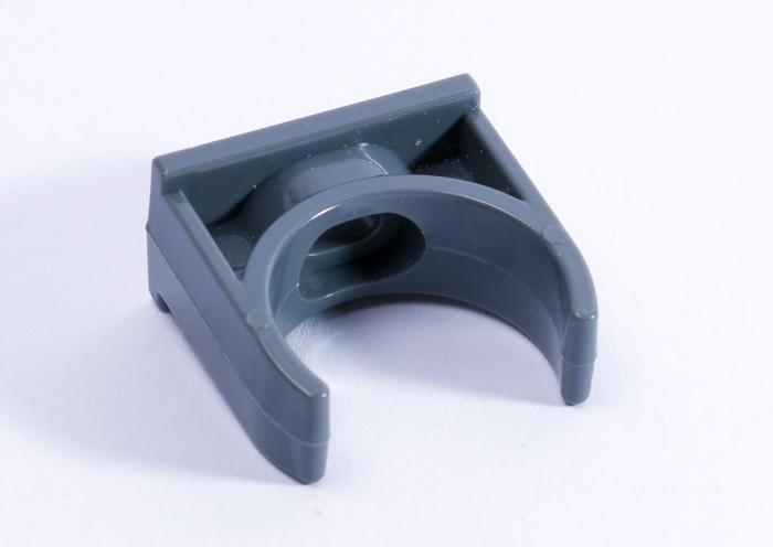 PVC Rohrklemme niedrig 40 mm 100 Stueck