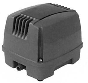 HAILEA Hi - Blow HAP - 80 Membrankompressor 4800 L/h