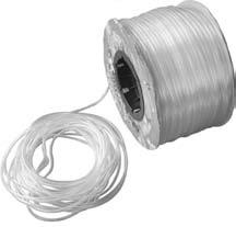 Luftschlauch PVC Ø 4 / 5.6 mm 200 m Rolle
