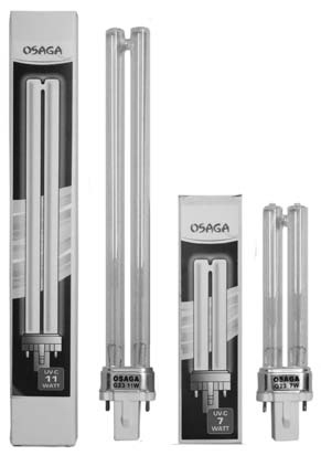 OSAGA PL UVC Ersatzlampe 24 Watt