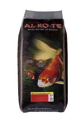 AL-KO-TE Gold- und Teichfischfutter 2 mm, 13,5 kg