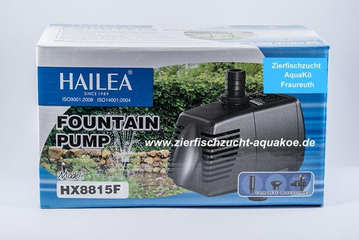 HAILEA Gartenteich-Pumpe HX-8815  1.380 Liter