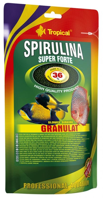 Tropical Spirulina 36 % Granulat 550 g