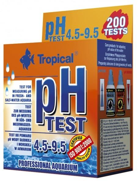 ph-Test 4.5 - 9.5 (Suess- und Meerwasser) fuer 200 Messungen