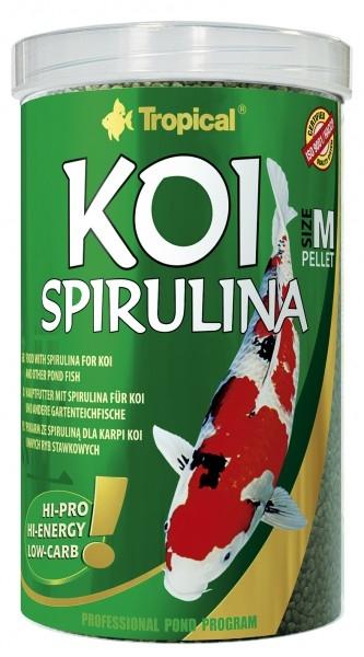 Koi Spirulina Pellet m (medium) 3 Liter