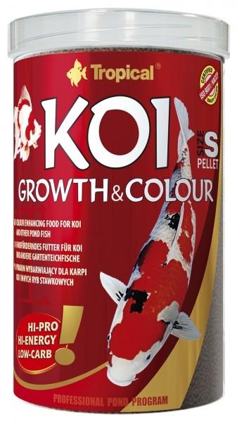 Tropical Koi Growth&Colour Pellet s (mini) 10 L