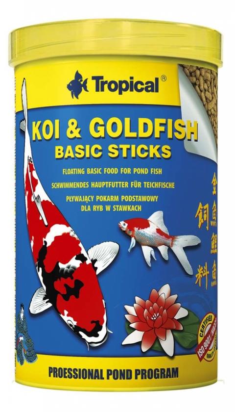 Tropical Koi&Goldfish BASIC Sticks Nachfuellpack 80g