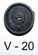 Ersatzmembran fuer HAILEA V 20