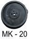 Ersatzmembran fuer OSAGA MK 20