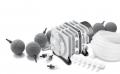 OSAGA Teichbelueftungs - Set LK 35 komplett, 5-teilig